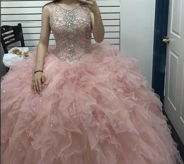 Sweetheart 16 Dress , Quinceñera Dress, Beading Homecoming Dress , Short Prom Dress