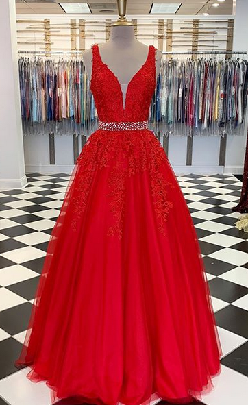 2020 Wedding Dress with Applique and Beading ,Bridal Dress ,Custom Made Prom Dresses BDS0713