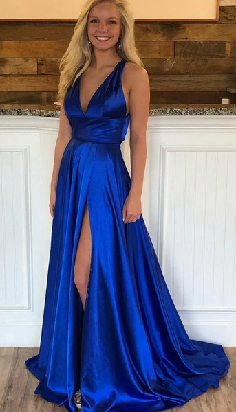 Simple Long Prom Dresses ,Sweet 16 Dress, Pageant Dress, Wedding Party Dress PDS1124