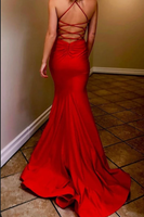 Simple Mermaid Long Prom Dresses  ,Sweet 16 Dress, Pageant Dress, Wedding Formal Dress PDS1132