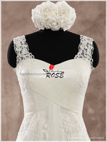 A-line Lace Wedding Dress Real Photo Bridal Dresses Vestidos de Novia BDS0537