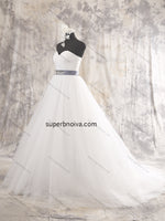 Sweetheart A-line Tulle Real Photo Ball Gown Wedding Dress Bridal Dresses Vestidos de Novia BDS0380