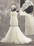 Mermaid Real Photo Tulle Wedding Dress Bridal Dresses With Applique and Beading Vestidos de Novia BDS0404