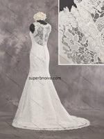 Mermaid Real Photo Lace Wedding Dress Bridal Dresses Vestidos de Novia BDS0423