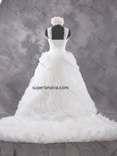 Sweetheart Unique Real Photo Wedding Dress With Lace Up Back Bridal Dresses Vestidos de Novia BDS0439