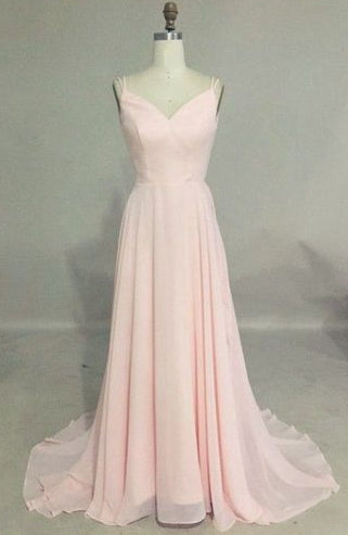 Simple A-line Long Prom Dress,Wedding Party Dress ,Formal Dress PDS0505