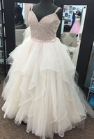 Fashion Ball Gown Bridal Dresses Fashion Beaded Bodice Wedding Dresses Vestidos de Novia BDS0521