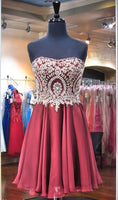 Fashion Short Homecoming Dress with Beading Dance Dresses Sweet 16 Dress Graduation Dress PDS0661