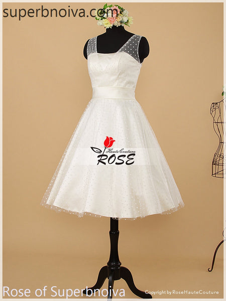 Short Real Photo Wedding Dress Reception Bridal Dresses BDS0459
