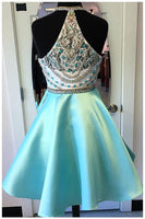 Fashion Beading Homecoming Dress,Short Prom Dress PDS0015