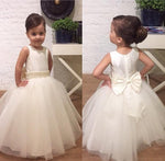 Custom Made Flower Girl Dress,Vestido da menina flor SF025
