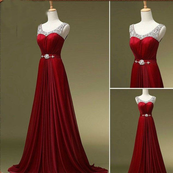 Real Photo Long Prom Dress,Beading Wedding Party Dress,Cocktail Dress,Fashion Evening Dresses PDS0267