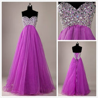 Sweetheart Beading Long Prom Dress,Popular Wedding Party Dress,Cocktail Dress, PDS0344