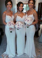 Fashion Long Mermaid Bridesmaid Dresses Wedding Party Dress Formal Dress PDS0649