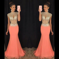 Mermaid Long Prom Dress,Beading Wedding Party Dress,Popular Cocktail Dress,Fashion Evening Dress PDS0021