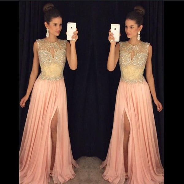 A-line Long Prom Dress,Beading Wedding Party Dress,Popular Cocktail Dress,Fashion Evening Dress PDS0022