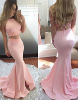 Sex Two Piece Mermaid Long Prom Dress ,Popular Wedding Party Dress,Fashion Evening Dresses PDS0230