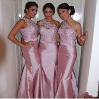 Long Mermaid Bridesmaid Dress,Popular Wedding Party Dress PDS0707