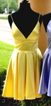 Simple Homecoming Dresses , Custom Made Hoco Dresses, Short Prom Dress,  Graduation Dress, PDH0039
