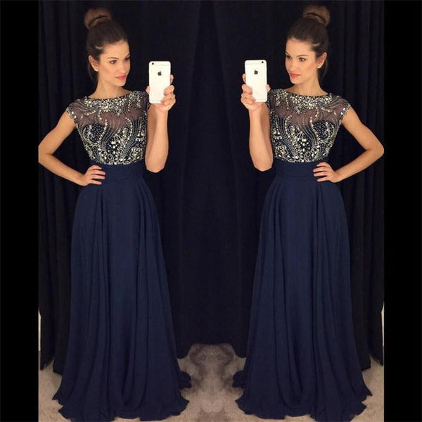 Beading Long Prom Dress,Popular Wedding Party Dress,Cocktail Dress,Fashion Evening Dresses PDS0289
