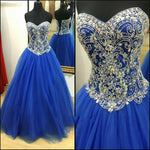 Beading Long Prom Dress Ball Gown,Popular Wedding Party Dress,Cocktail Dress,Fashion Evening Dresses PDS0291