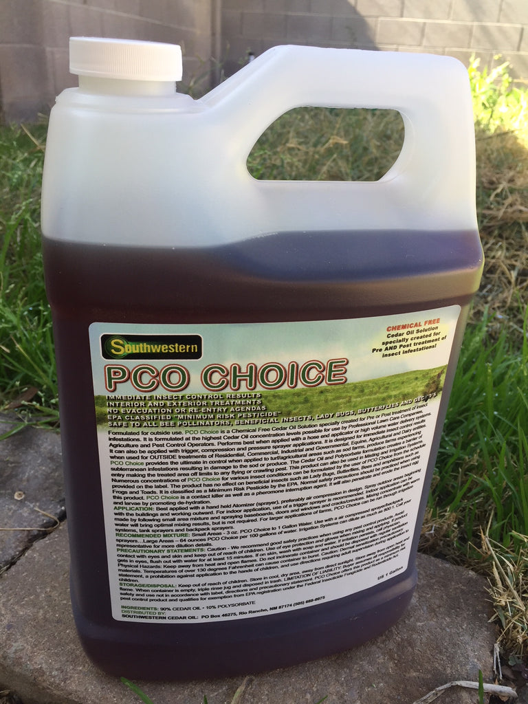 1 gallon Organic Pest Control Concentrate - Makes 32 gallons