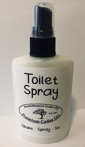 2 - 3oz Toilet Spray - the Cedar Oil way