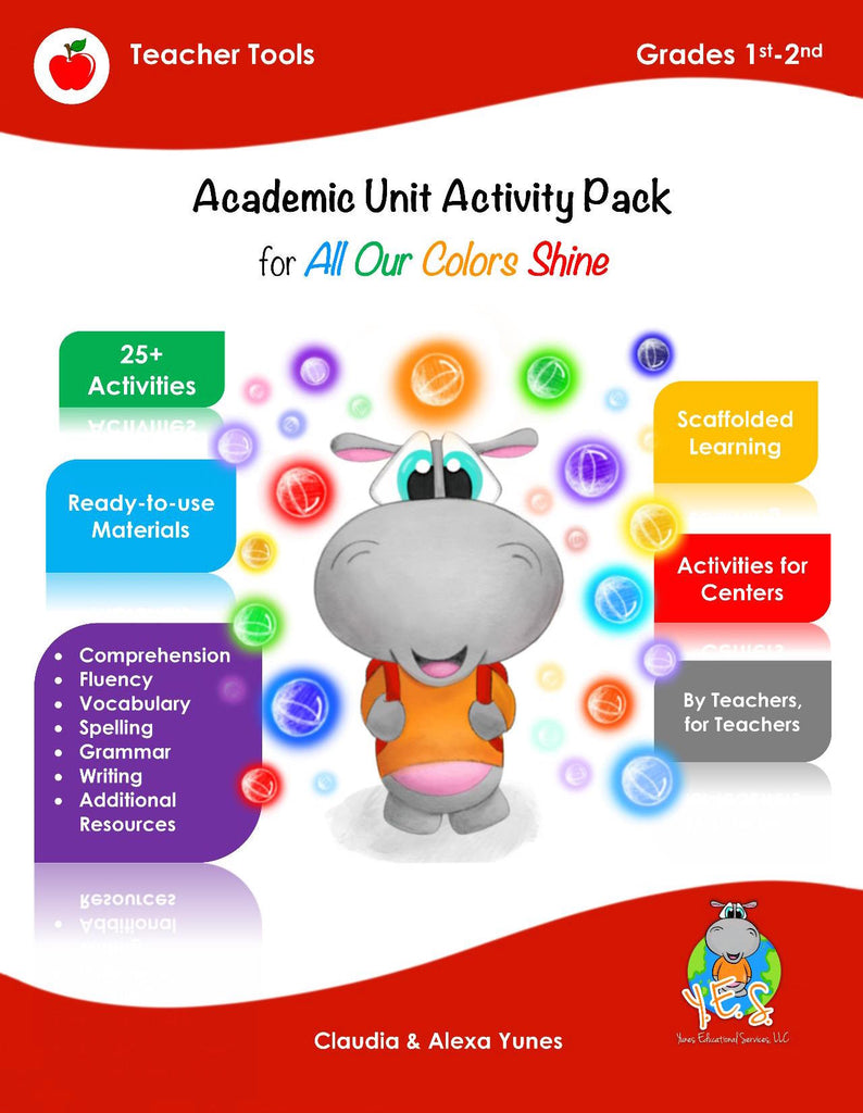 All Our Colors Shine Activity Pack 1st-2nd Grade