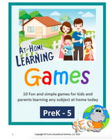 At Home Learning Games PDF