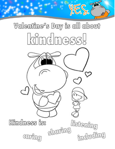 FREE Valentine's Day Coloring PDF Download