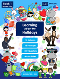 Learning About the Holidays - Book 1