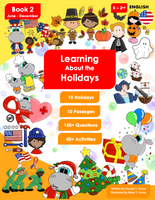 Learning About the Holidays - Book 2