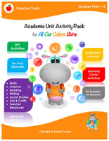 All Our Colors Shine Activity Pack PreK-K