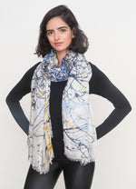 """Call me an Angel"" Long Shawl - SMHDGalleries"