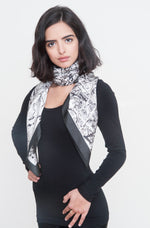 """Shield"" Silk Foulard Scarf - SMHDGalleries"