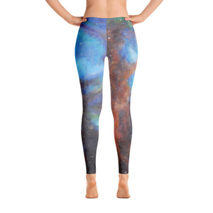 """Drifting in Nebula"" Leggings - SMHDGalleries"