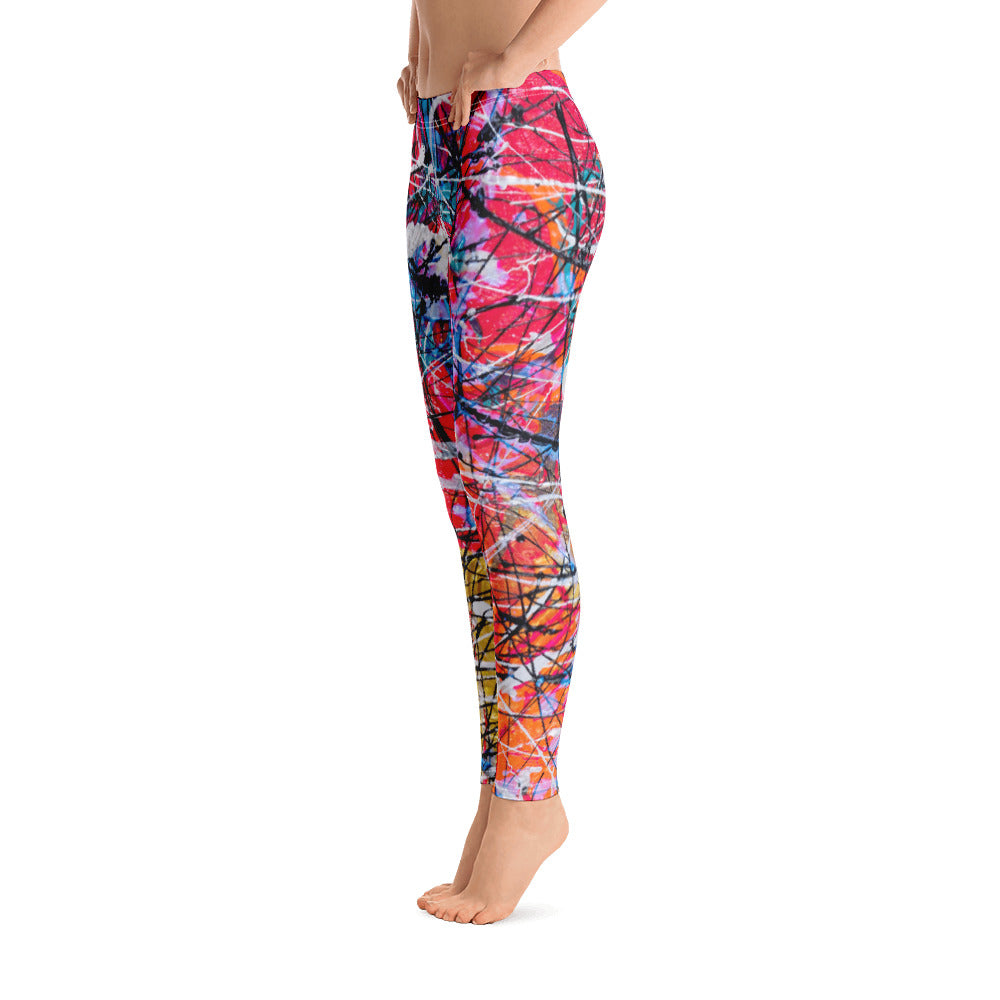 """WHY sO pink hue"" Leggings - SMHDGalleries"