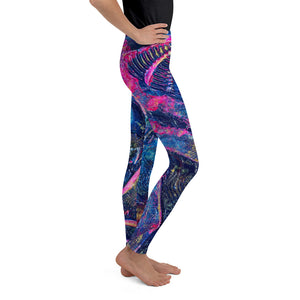 """The Mantra"" Youth Leggings - SMHDGalleries"