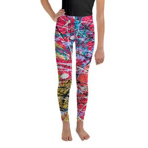 """Why so pink hue?"" Youth Leggings - SMHDGalleries"