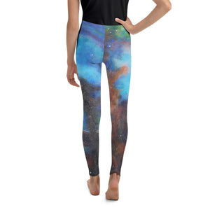 """Drifting in Nebula"" Youth Leggings - SMHDGalleries"