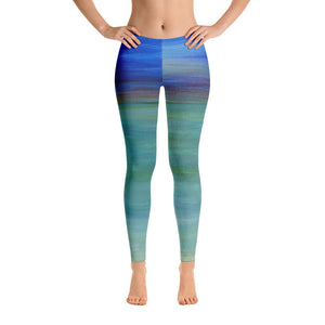 """misty ocean"" Leggings - SMHDGalleries"
