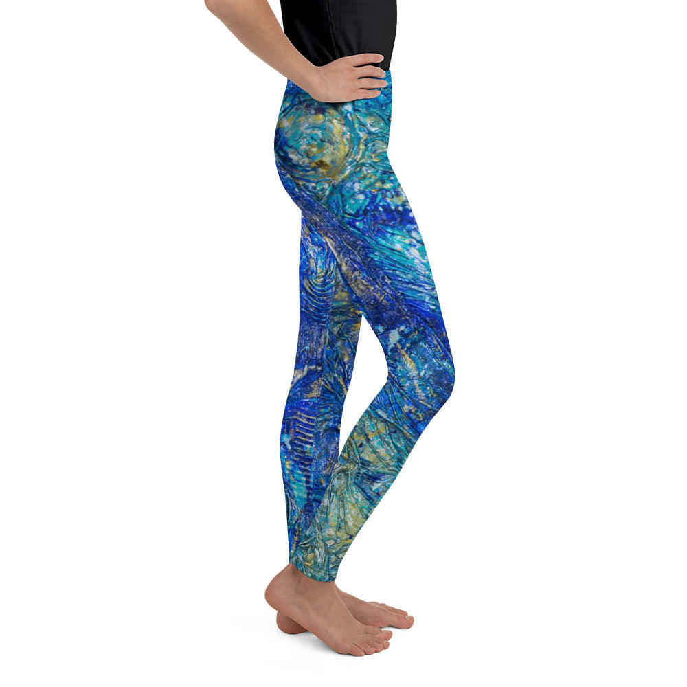 """black swan"" Youth Leggings - SMHDGalleries"