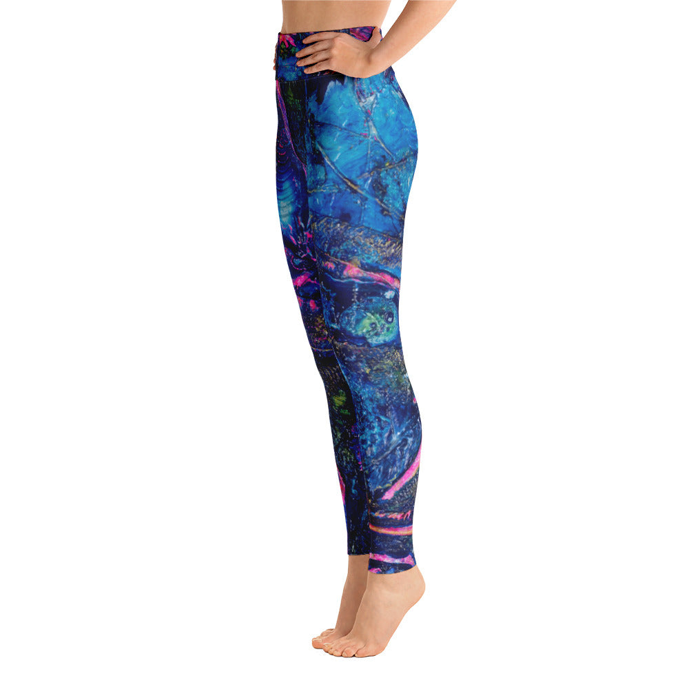 """the mantra"" High Waisted Yoga Leggings - SMHDGalleries"