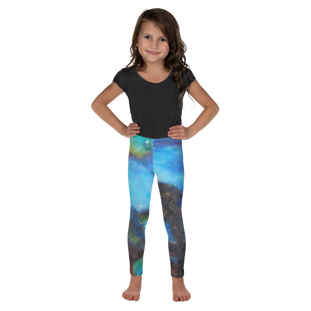 """Drifting in Nebula"" Kid's leggings - SMHDGalleries"