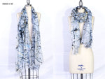 """CALL Me an ANGEL"" Long Shawl - Made in Italy Art Scarf - SMHDGalleries"