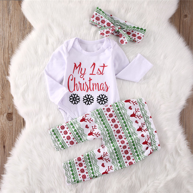 My 1st Christmas Outfit