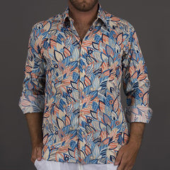 Men's Shirt The Kirra-Orange