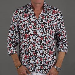 Men's Shirt Dot to Dot-Blue