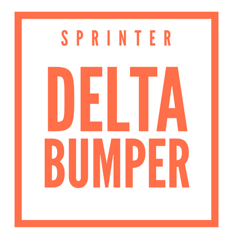 DELTA Sprinter Rear Step Bumper