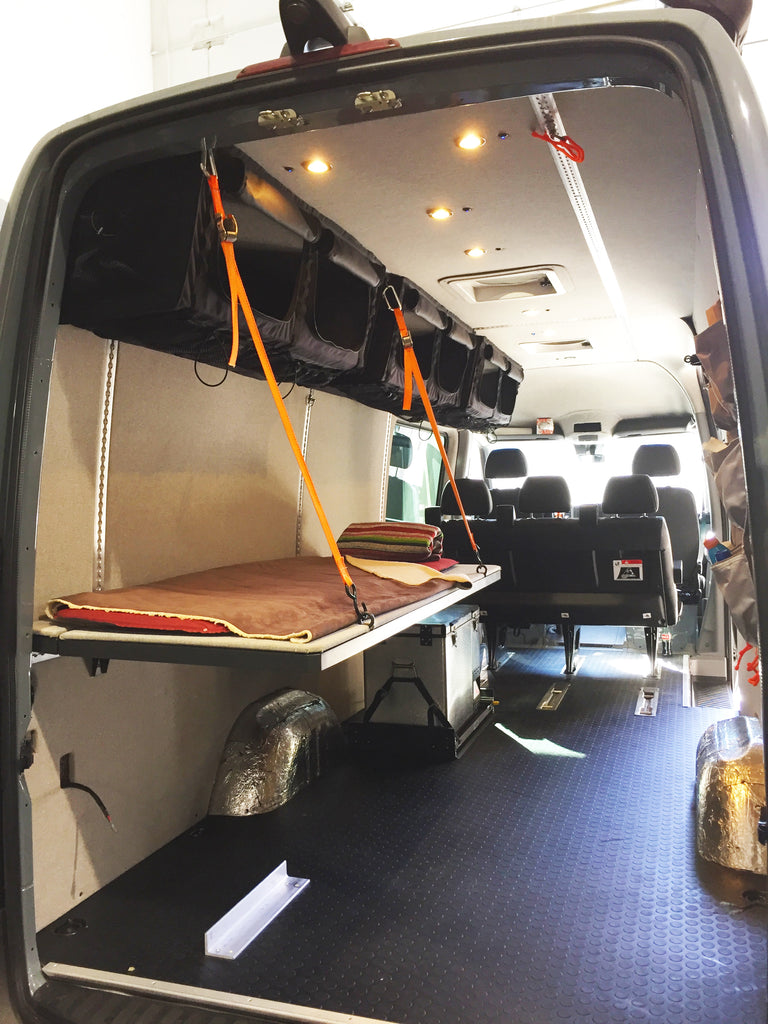 Mercedes Sprinter Bed Monk Bunk Adventure Wagon